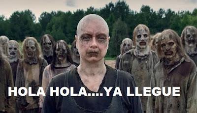 Alpha y Los Susurradores The Walking Dead 9x15