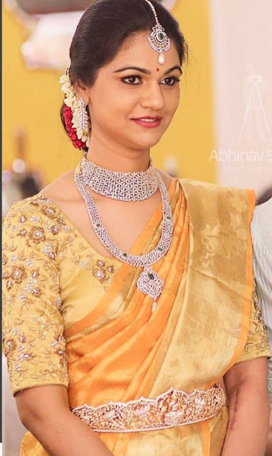 Allu Arjun wife Sneha Reddy Diamond Jewelry