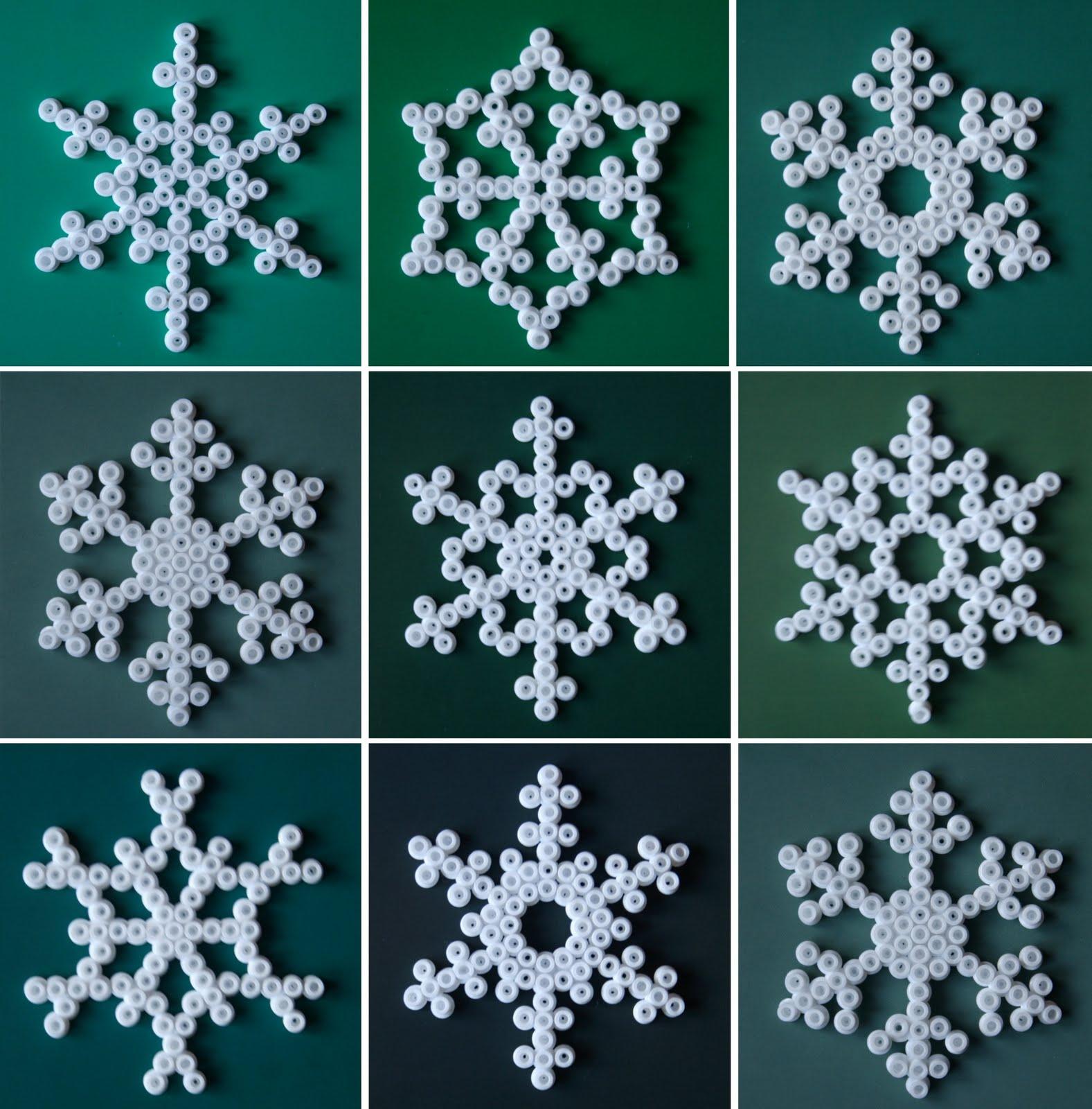 Heodeza: Homemade Snowflakes