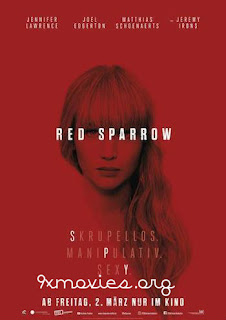 Red Sparrow 2018 English 480p BRRip 400MB ESubs