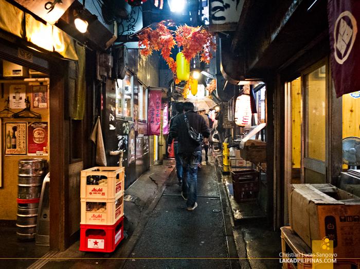 Tokyo Piss Alley Shinjuku Evening