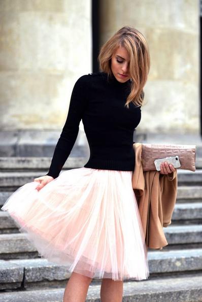 Resultado de imagen de faldas largas con jerseys