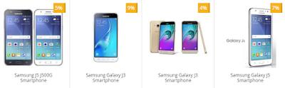 Info Daftar Harga Terbaru Smartphone Android Merk Samsung