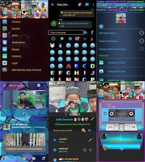 BBM Mod BBKU V3.0.1.25 Apk Karya AYIKO