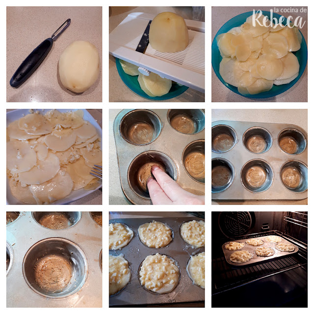 Receta de milhojas de patata 02