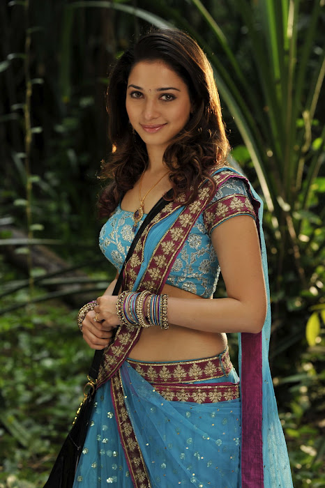 Tamanna Blue Saree: Tollywood Actress And Actor