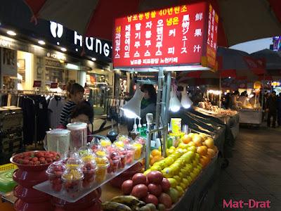 Percutian ke Busan Kores Selatan Tempat Menarik BIFF Square Market