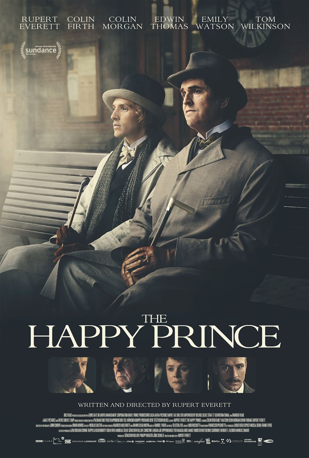 The Happy Prince review / Rupert Everett is magnificent in dream role as  dying Oscar Wilde