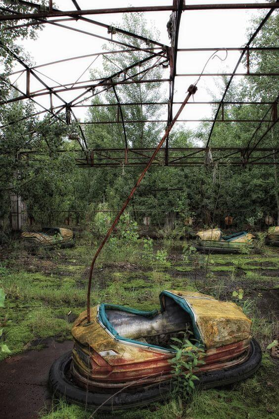 Chernobyl's Abandoned Amusement Park