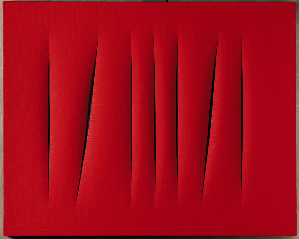 Spatialism and The Slashed Canvases of Lucio Fontana
