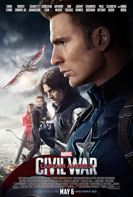 Marvel's Captain America: Civil War Team Cap vs Team Iron Man Movie Poster Set – Team Captain America