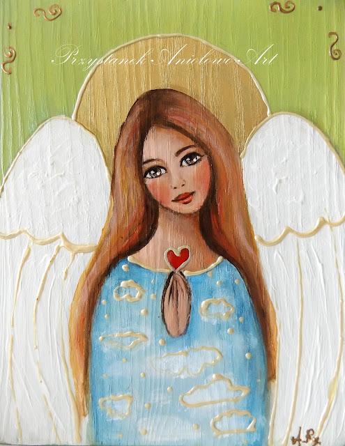 Aniołki-małe obrazki 2