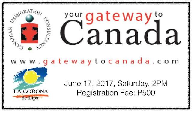 Lipa City Seminar Schedule: June 17, 2017