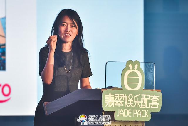 Astro中文部總監王小萍 @ TVB x Astro 翡翠娛樂配套啟動儀式