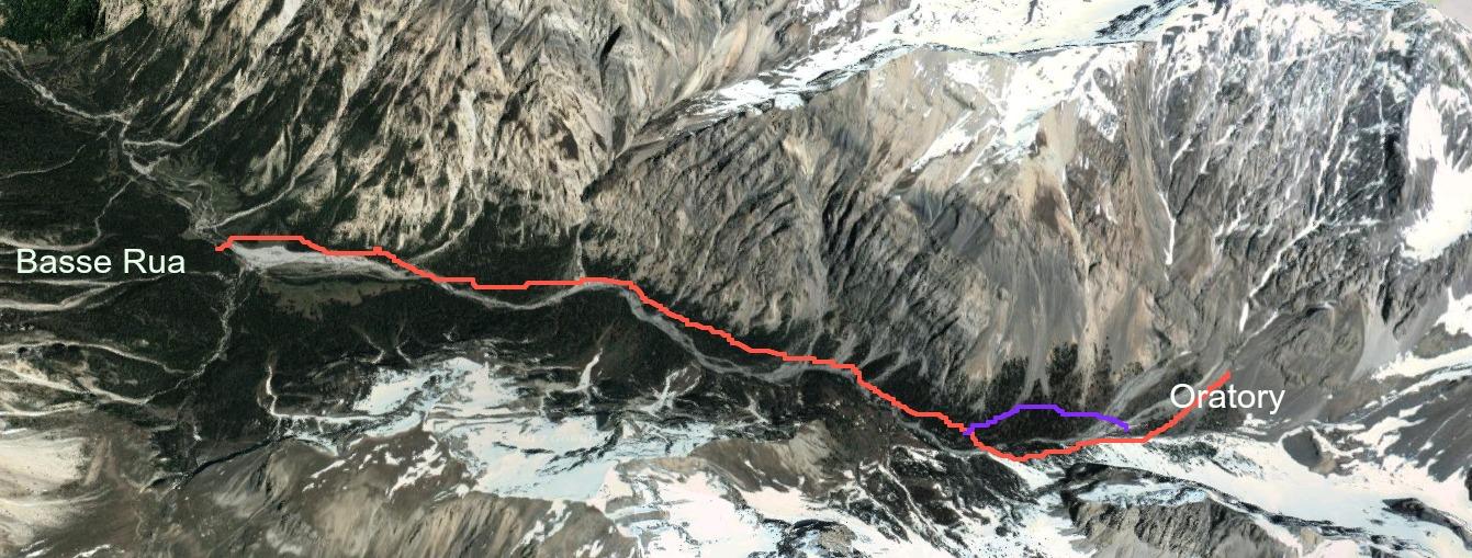 Val d'Escreins trail