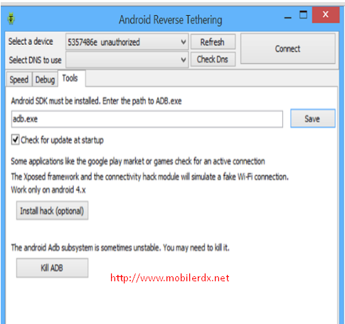 Android Reverse Tethering Tool V3.19 Download For Windows Pc