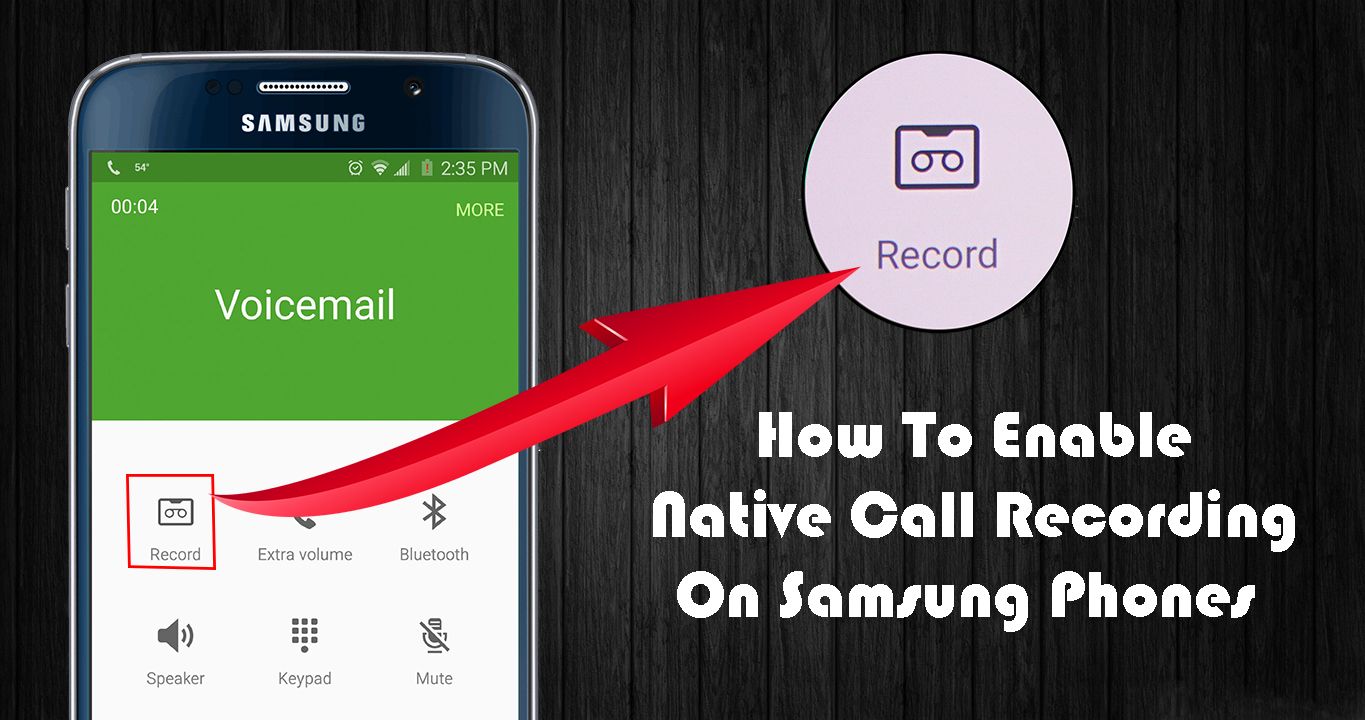 How To Enable Native Call Recording On Samsung Phones [Root] - <ata