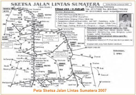 contoh peta sketsa