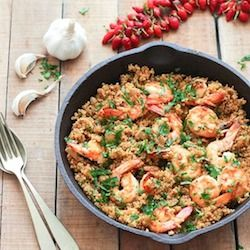 GARLIC SHRIMP AND QUINOA #garlic #shrimp #quinoa #shrimprecipes #healthyrecipes #healthyfood Desserts, Healthy Food, Easy Recipes, Dinner, Lauch, Delicious, Easy, Holidays Recipe, Special Diet, World Cuisine, Cake, Grill, Appetizers, Healthy Recipes, Drinks, Cooking Method, Italian Recipes, Meat, Vegan Recipes, Cookies, Pasta Recipes, Fruit, Salad, Soup Appetizers, Non Alcoholic Drinks, Meal Planning, Vegetables, Soup, Pastry, Chocolate, Dairy, Alcoholic Drinks, Bulgur Salad, Baking, Snacks, Beef Recipes, Meat Appetizers, Mexican Recipes, Bread, Asian Recipes, Seafood Appetizers, Muffins, Breakfast And Brunch, Condiments, Cupcakes, Cheese, Chicken Recipes, Pie, Coffee, No Bake Desserts, Healthy Snacks, Seafood, Grain, Lunches Dinners, Mexican, Quick Bread, Liquor
