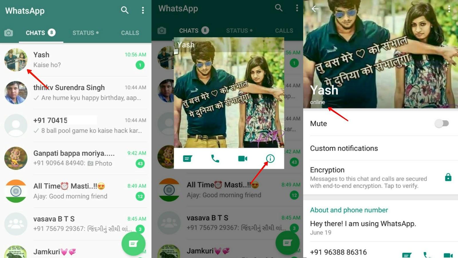 Hatsapp Par Message Padhe Bina Kisika - BerkshireRegion