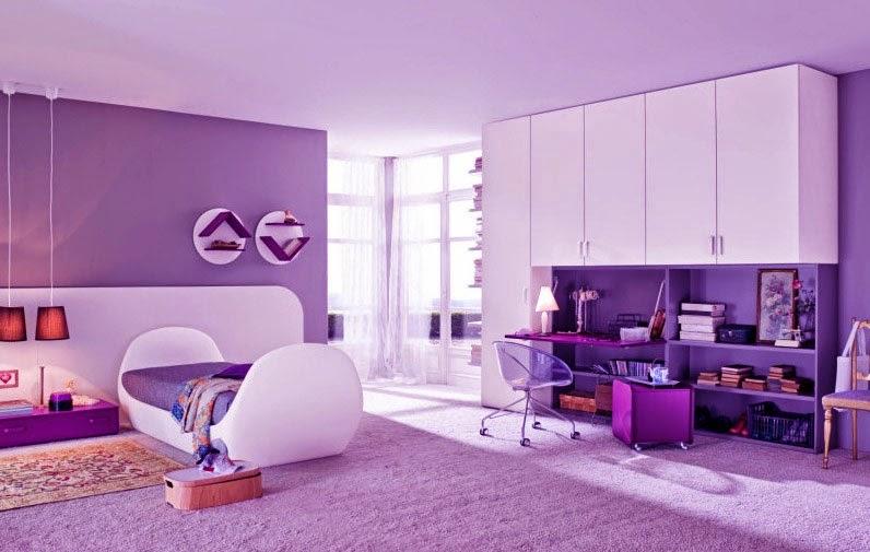 Kombinasi Warna Cat Kamar Anak Perempuan baru 50 kombinasi cat kamar ungu