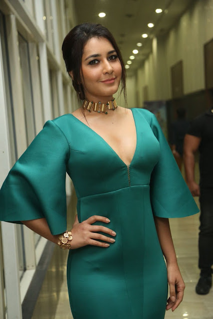 Raashi Khanna  Stills at Hyper Movie Audio Launch