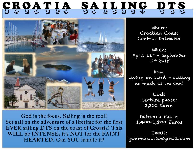 YWAM CE Blog: YWAM Croatia   Sailing DTS