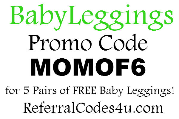 BabyLeggings.com Promo Code 2016, BabyLeggings Coupon FREE: April, May, June, July, August