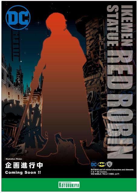 Anunciado Red Robin de la línea Ikemen de DC Comics - Kotobuykiya