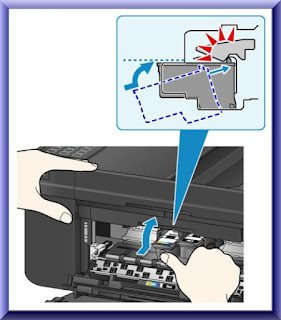 Install Ink Cartridge In Canon PIXMA MX922