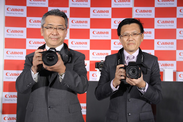Canon launches World's highest resolution full-frame DSLR cameras EOS 5DS and EOS 5DSR in India today