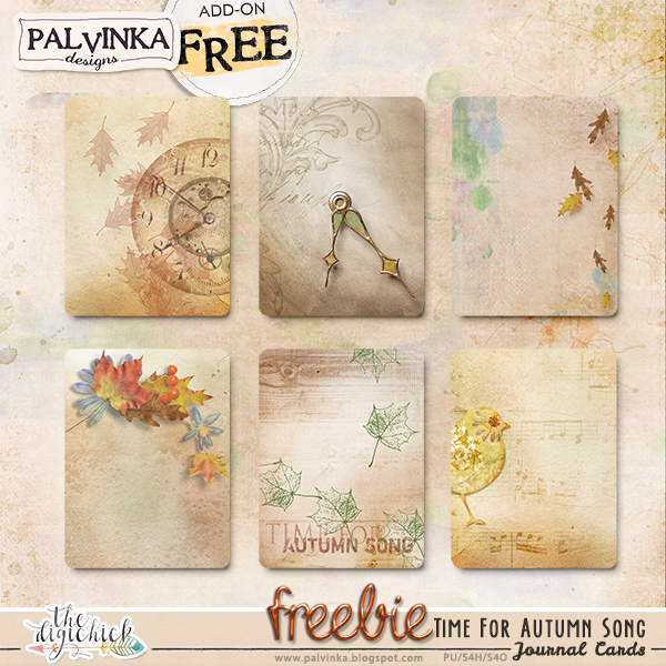Time For Autumn Song and brand new Freebie