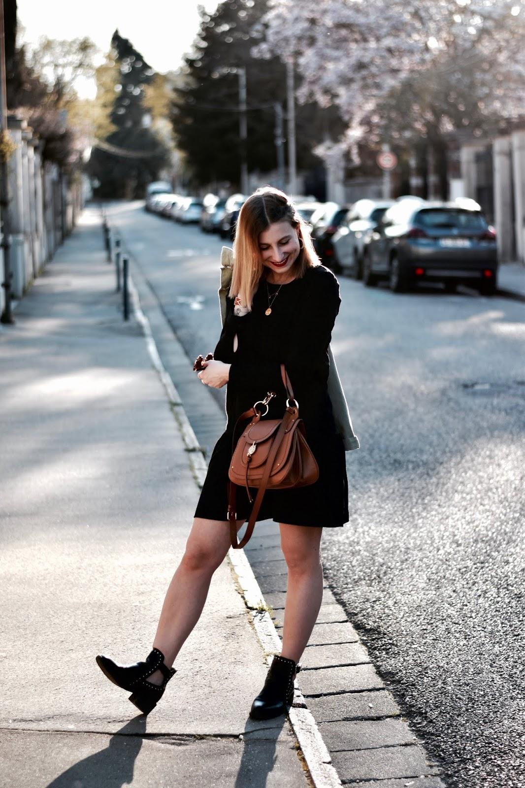 avec quoi associer une petite robe noire