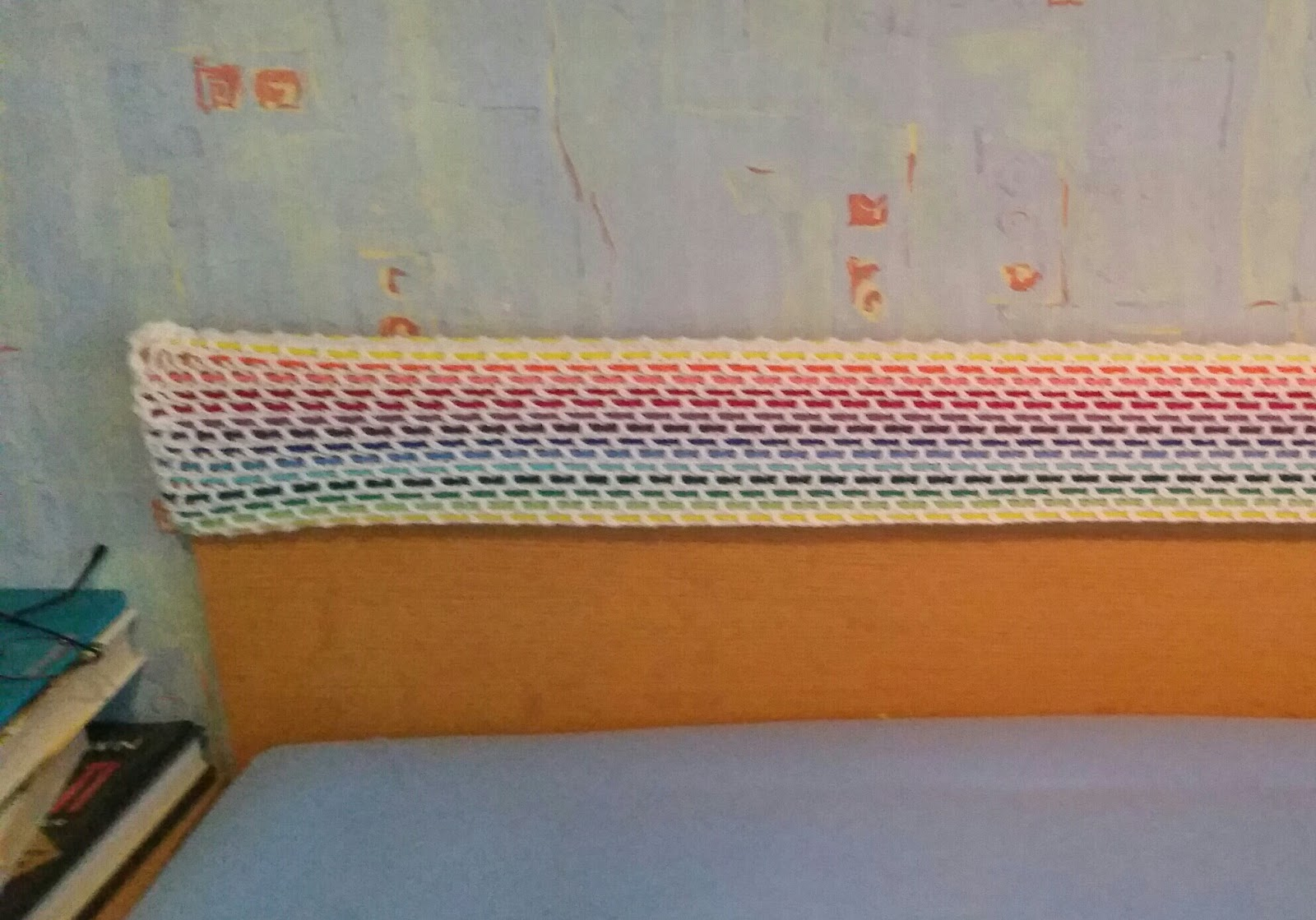 my world of crochet eine h lle f r das bett. Black Bedroom Furniture Sets. Home Design Ideas