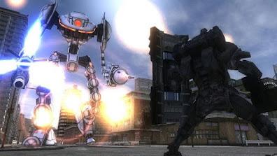تجربة العبة EARTH DEFENSE FORCE : قوات المدافعة عن الأرض