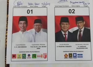 Hasil Survei Terbaru Elektabilitas Jokowi Ma'ruf vs Prabowo Sandi