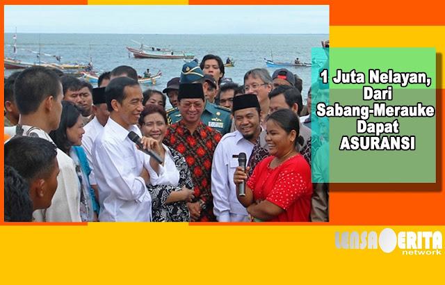 Pertama Dalam Sejarah Dunia, Jokowi Berikan 1 Juta Nelayan RI Asuransi Full, Dahsyat!