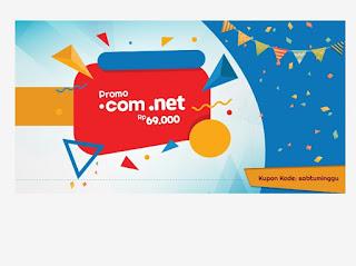 Promo domain .com dan .net 2017