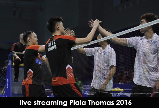 Live Streaming Piala Thomas 2016/2017 !
