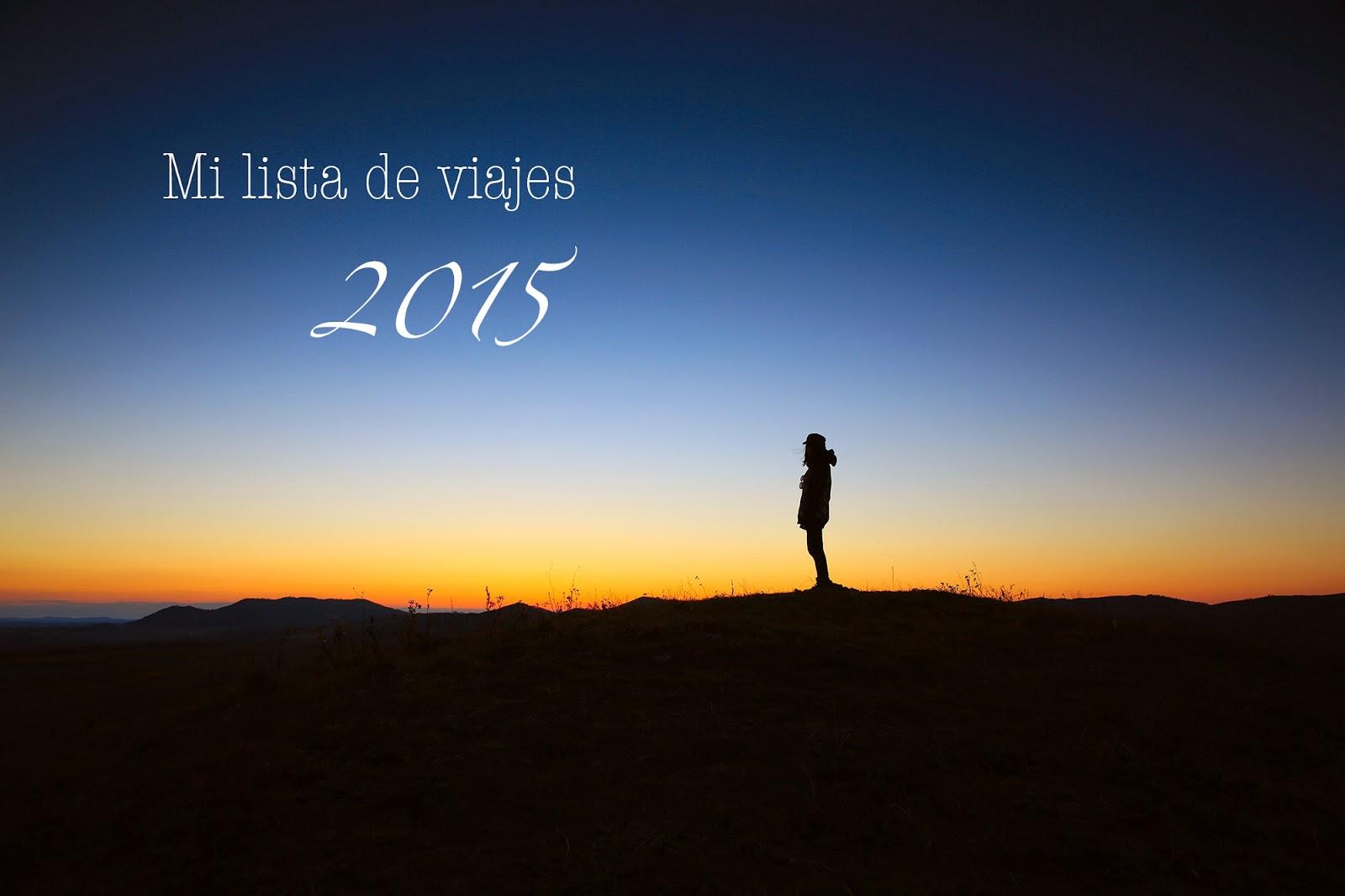 Título post lista de viajes 2015