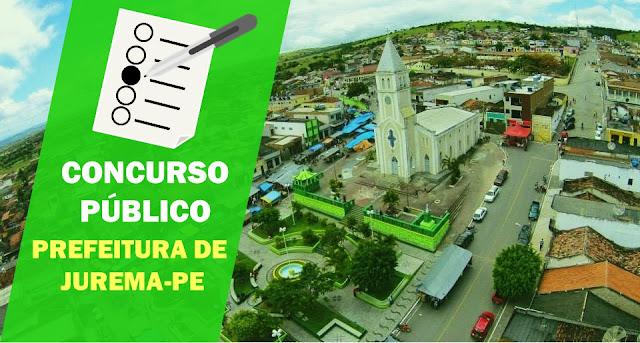 CONCURSO PÚBLICO PREFEITURA DE JUREMA-PE