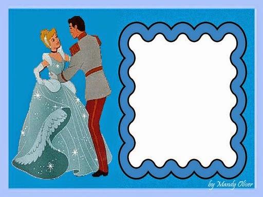 Cenicienta y el Príncipe: Tarjetas, Fondos o Invitaciones para Descargar Gratis.