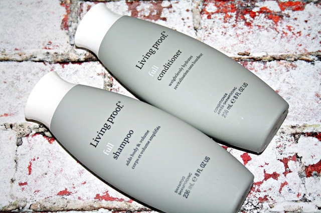 Living Proof Hair Care Full Shampoo and Conditioner
