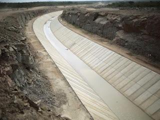 Obras da transposição das águas do São Francisco na PB chegam a 85%