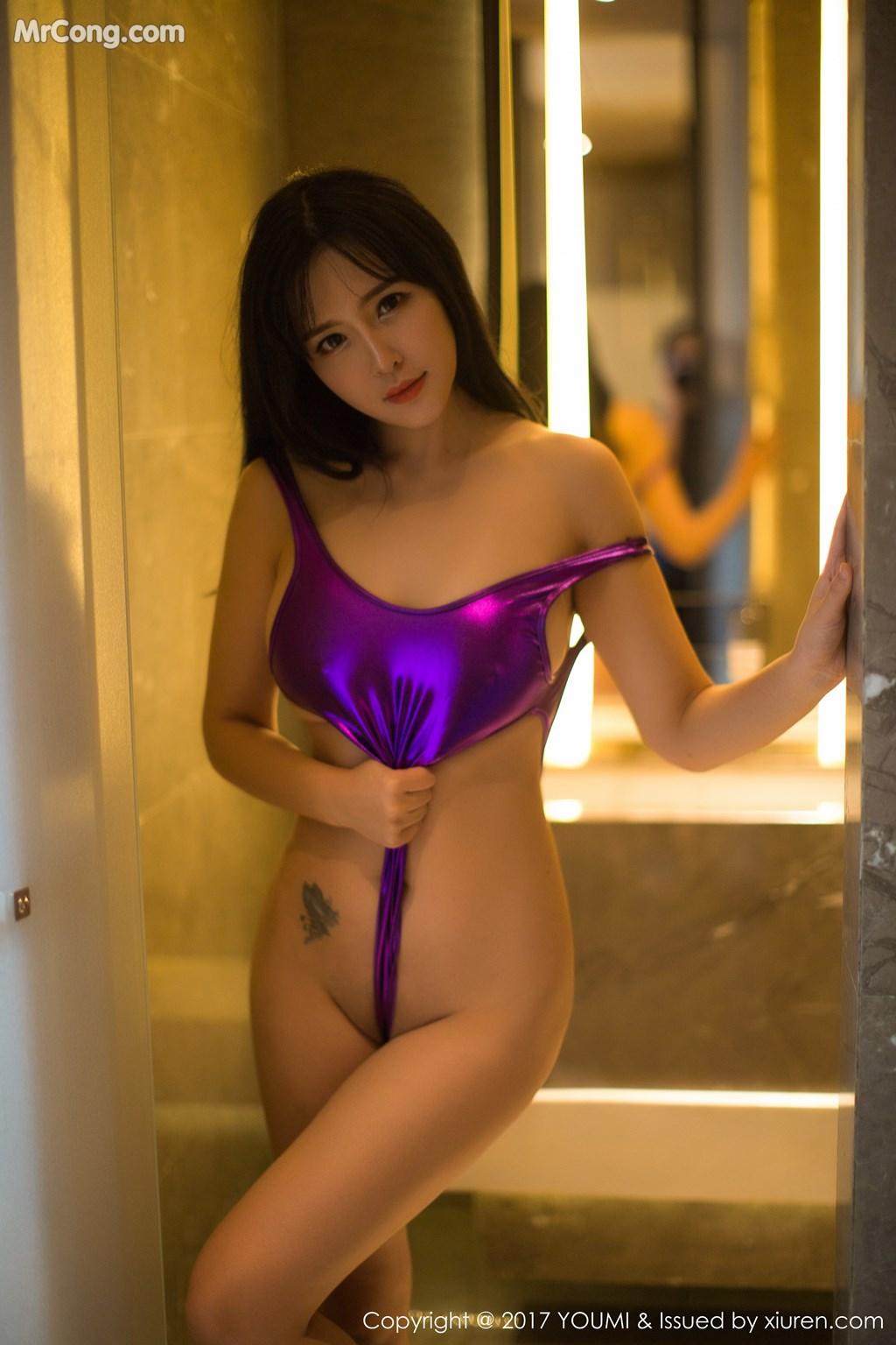Image YouMi-Vol.064-Liu-Yu-Er-MrCong.com-041 in post YouMi Vol.064: Người mẫu Liu Yu Er (刘钰儿) (46 ảnh)