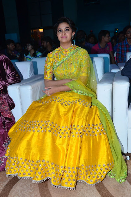 keerthy suresh at remo telugu audio pics