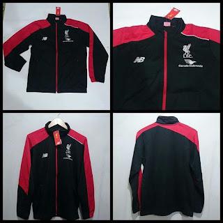 Jaket Liverpool Merah Hitam