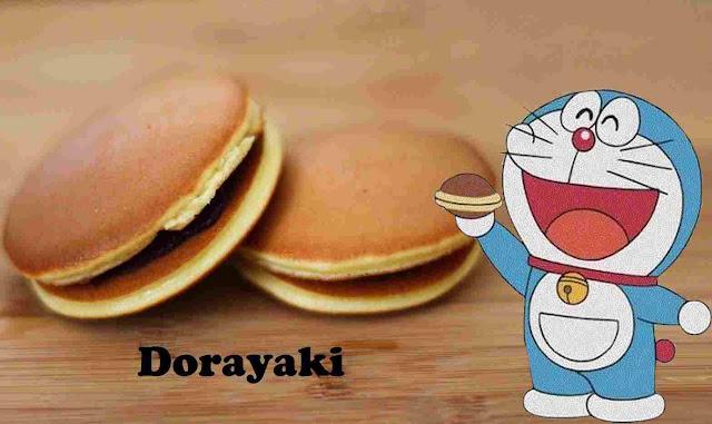 Resepi Kuih Dorayaki Doraemon Sukatan Cawan