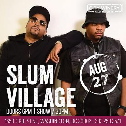 SLUM VILLAGE - City Winery