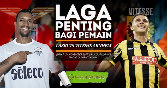 Prediksi Bola : Lazio Vs Vitesse Arnhem , Jumat 24 November 2017 Pukul 01.00 WIB